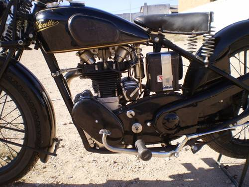 1933 VELOCETTE MOV  250 C.C. OHV FIRST SERIES SOLD (picture 3 of 6)