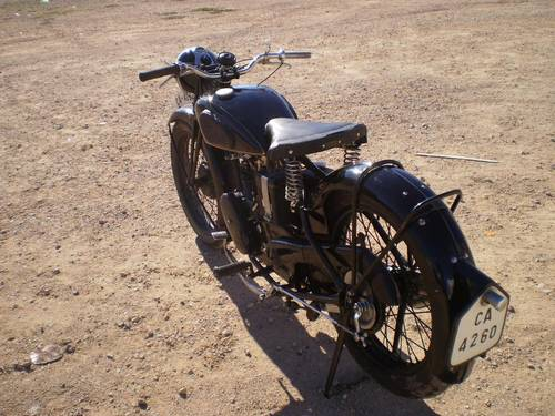 1933 VELOCETTE MOV  250 C.C. OHV FIRST SERIES SOLD (picture 5 of 6)