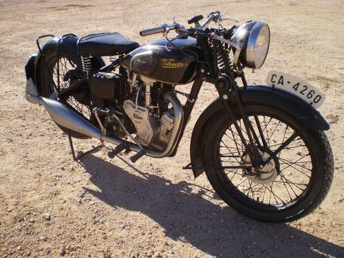 1933 VELOCETTE MOV  250 C.C. OHV FIRST SERIES SOLD (picture 6 of 6)