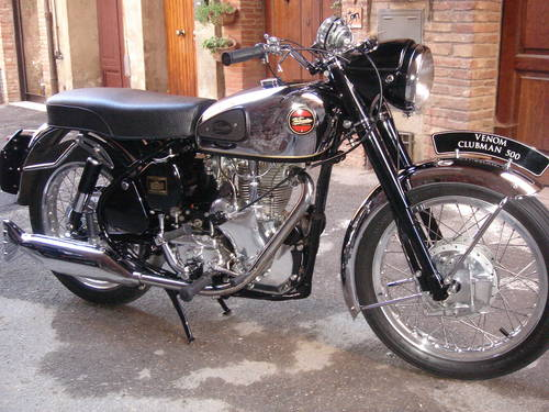 1961 Velocette Venom Clubman  For Sale (picture 1 of 6)
