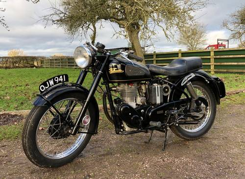 Velocette Mac 1955 350cc SOLD (picture 2 of 6)