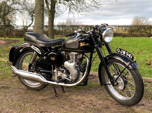 Velocette Mac 1955 350cc SOLD (picture 1 of 6)