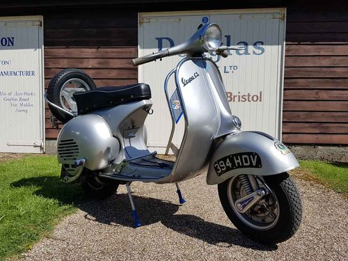 1961 Vespa GS150 VS5 - Stunning UK Scooter & Recent Overhaul For