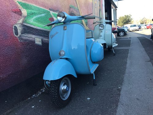1958 Vespa Douglas For Sale (picture 1 of 4)