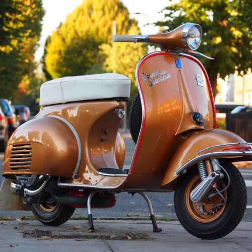 1962 Vespa Douglas Sportique, RESERVED FOR DAVE. SOLD (picture 1 of 6)