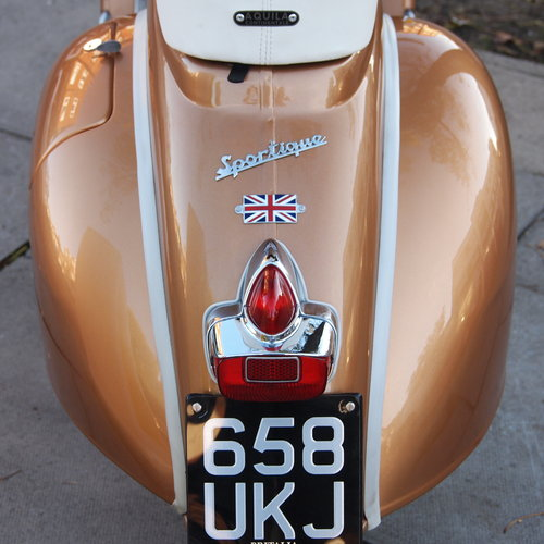 1962 Vespa Douglas Sportique, Best Mod Brighton In 2016. For Sale (picture 4 of 6)