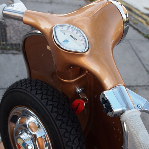 1962 Vespa Douglas Sportique, RESERVED FOR DAVE. SOLD (picture 5 of 6)