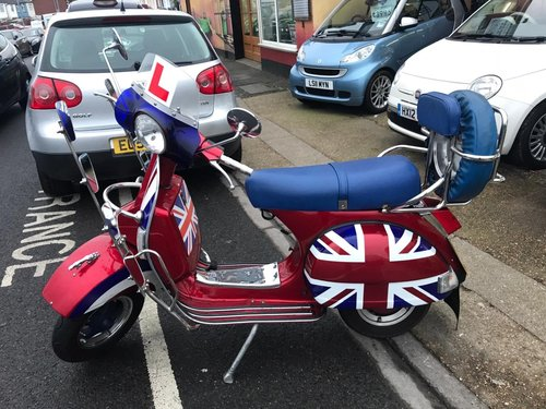 2012 Vespa LML Star Deluxe 125 mod special!! Low mileage! For Sale