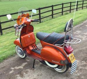 1981 Rare Vespa MK1 P200E For Sale
