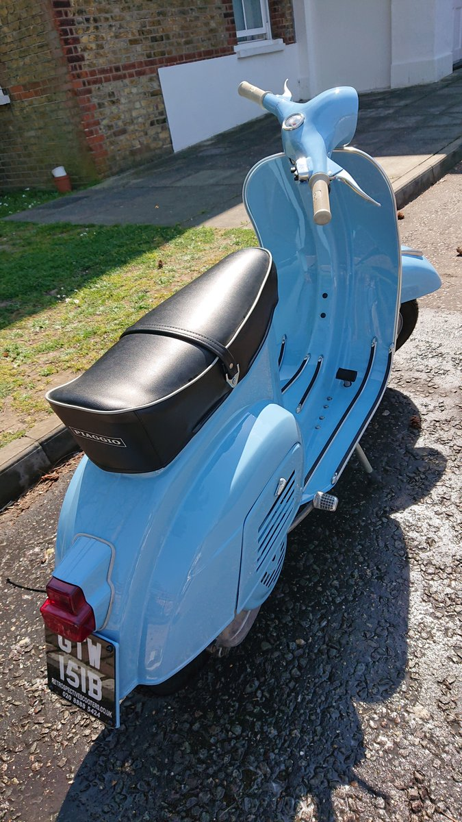 1964 Vespa 90 mk1 small door For Sale (picture 2 of 6)