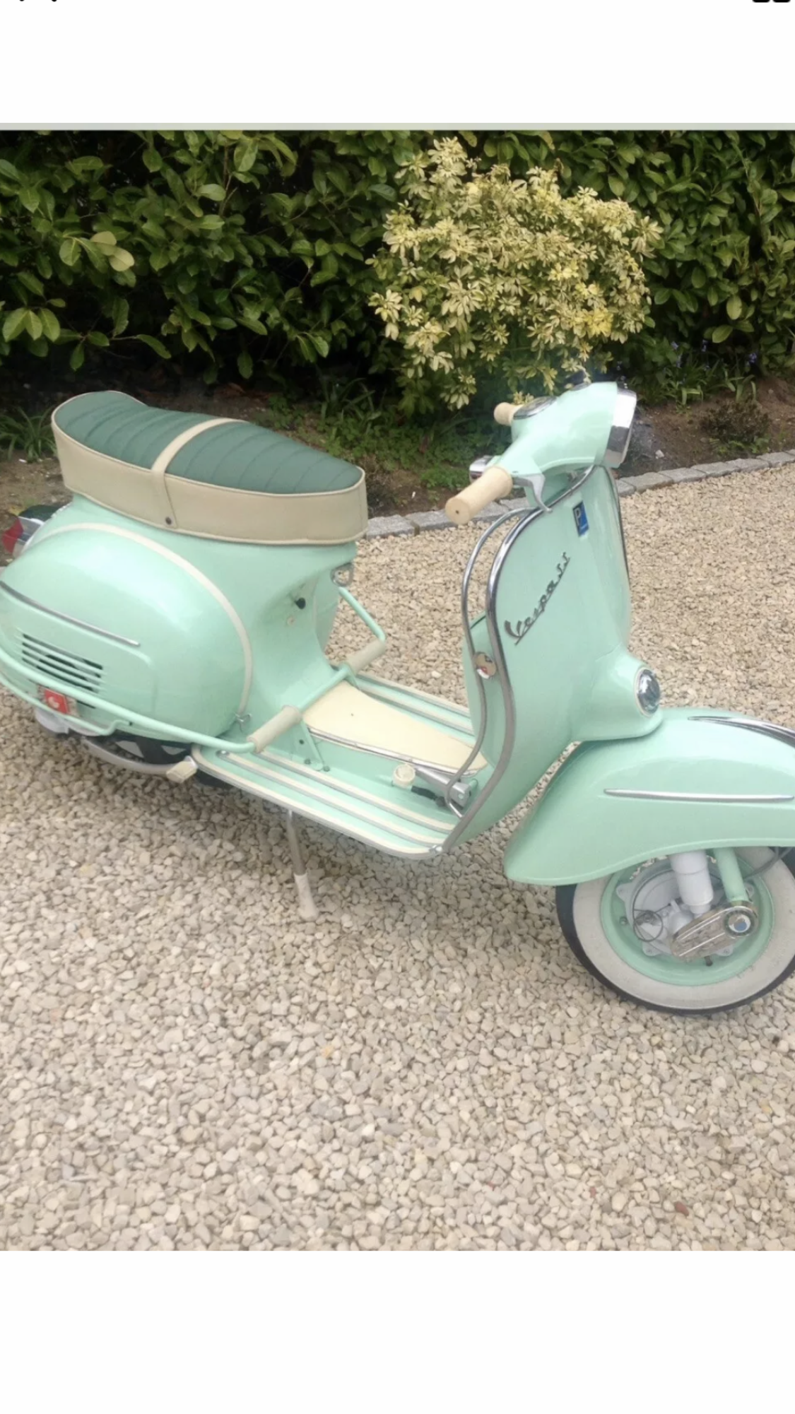 Vespa SS 180 scooter 1966 For Sale (picture 1 of 2)