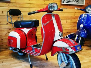 1965 Vespa SS180 - Nut & Bolt UK 'Armandos' Restoration