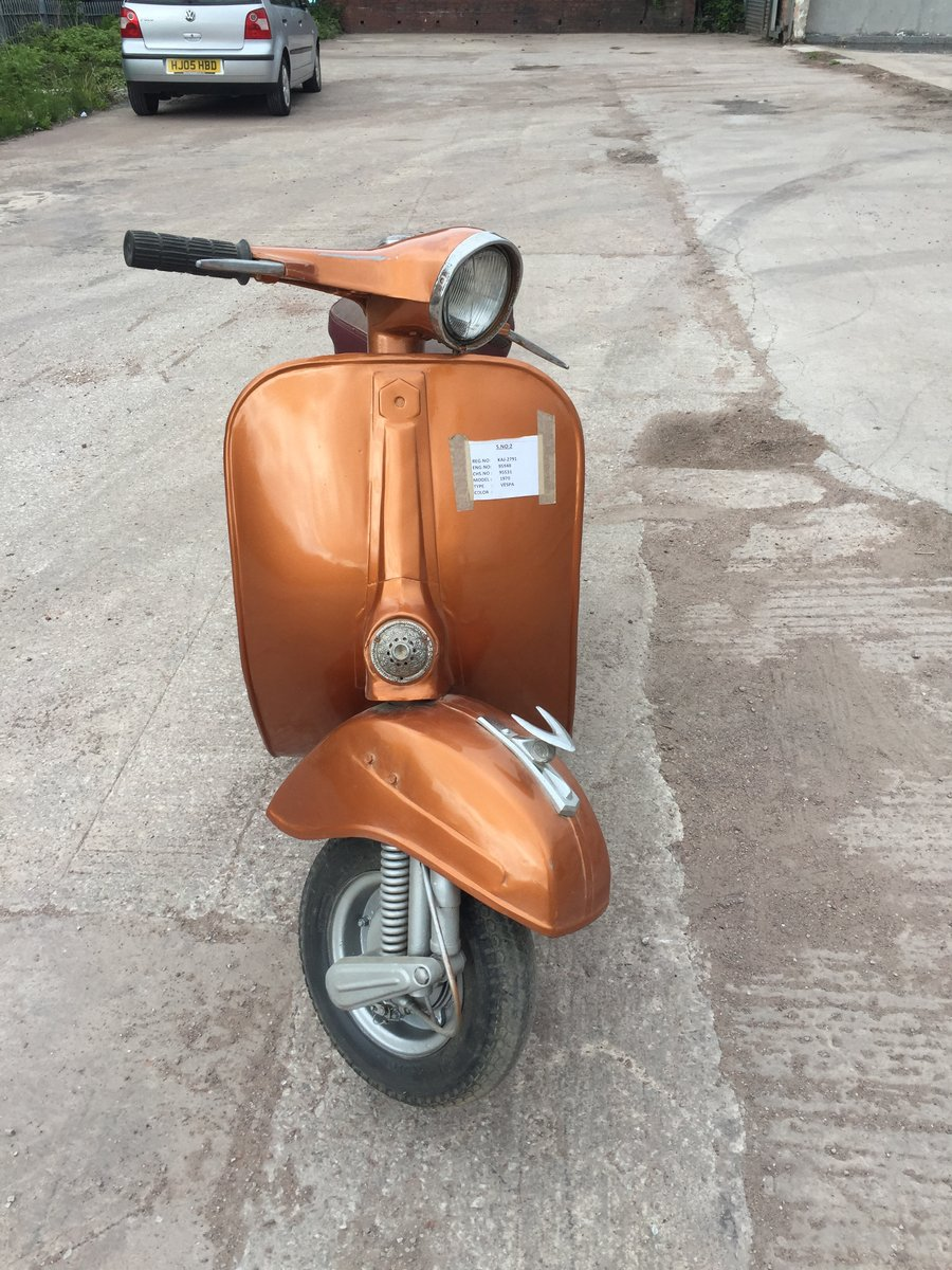 1969 CLASSIC VESPA FOR SALE For Sale (picture 1 of 4)