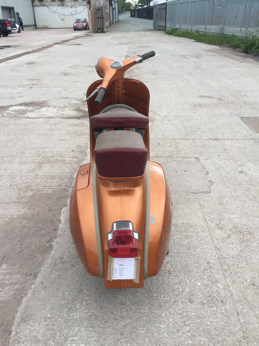 1969 CLASSIC VESPA FOR SALE For Sale (picture 3 of 4)