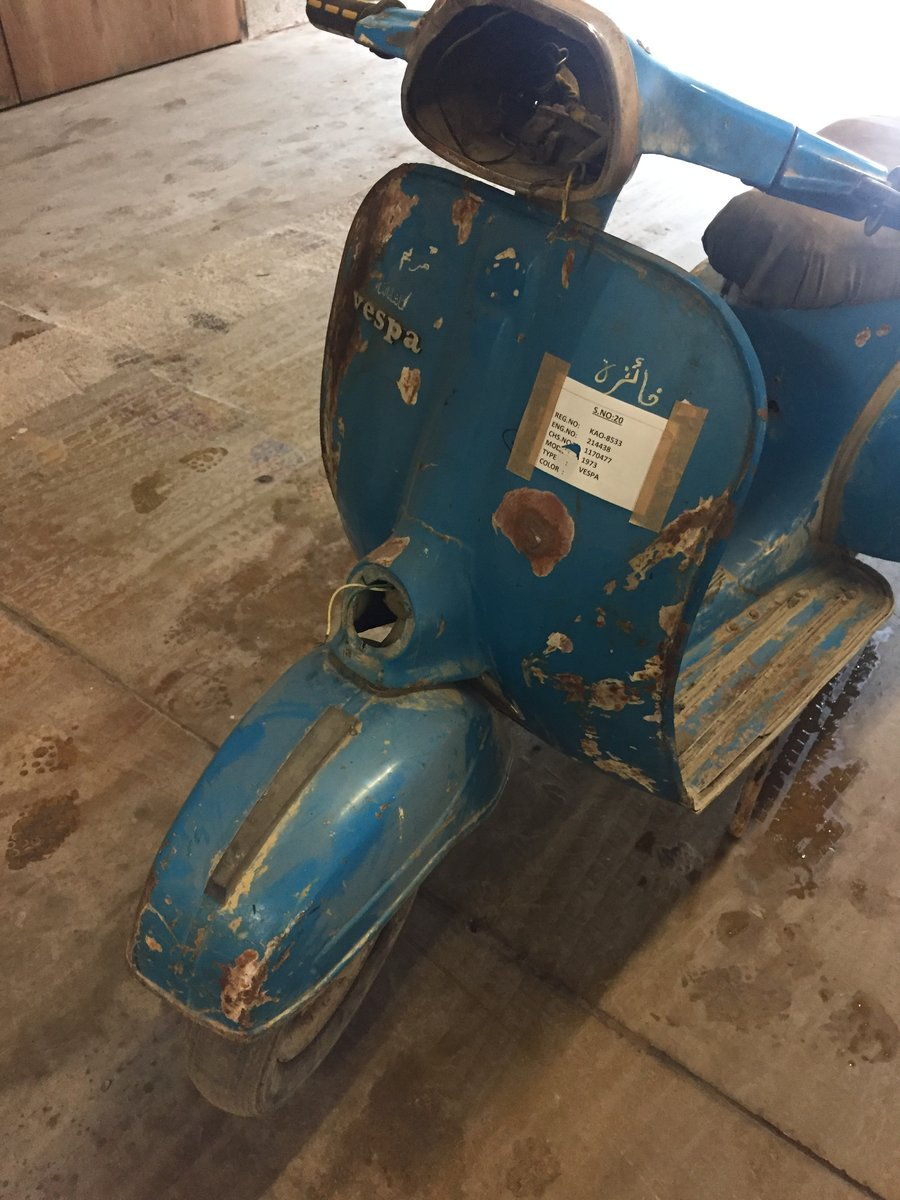 1973 CLASSIC VESPA PROJECT FOR SALE For Sale (picture 1 of 6)