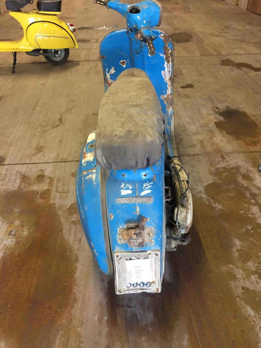 1973 CLASSIC VESPA PROJECT FOR SALE For Sale (picture 2 of 6)