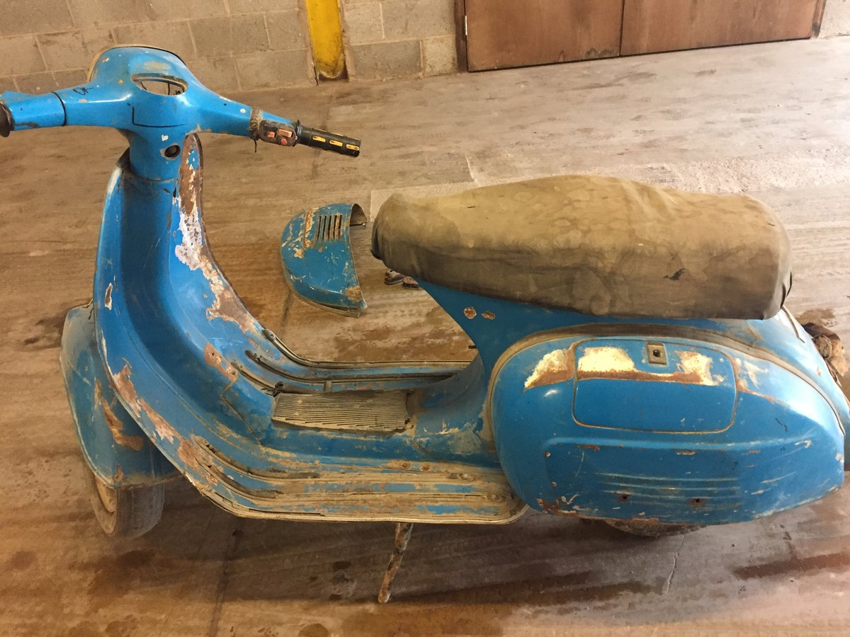 1973 CLASSIC VESPA PROJECT FOR SALE For Sale (picture 3 of 6)