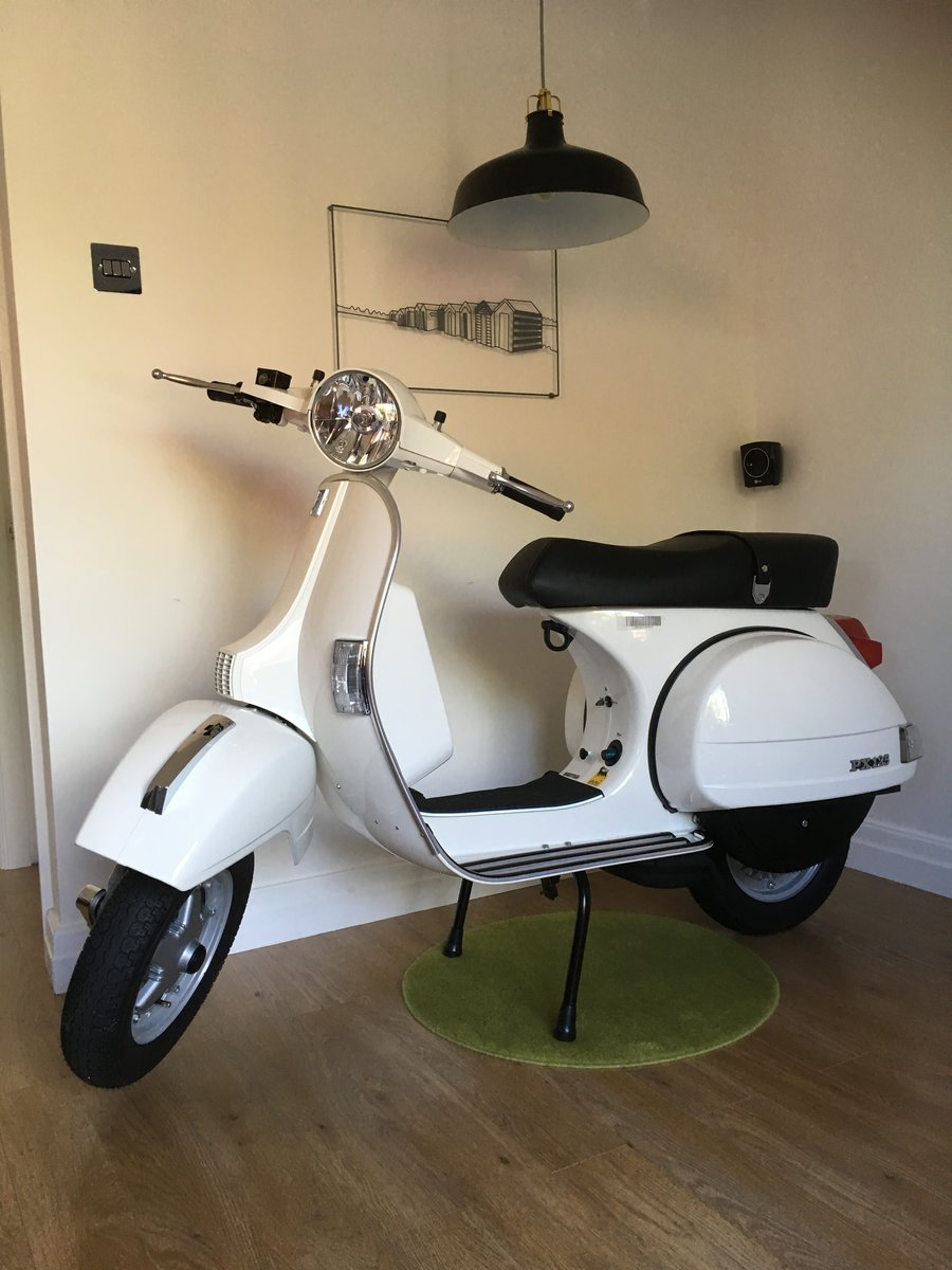 2015 New unused px 125. Displayed in house from day one For Sale (picture 1 of 6)