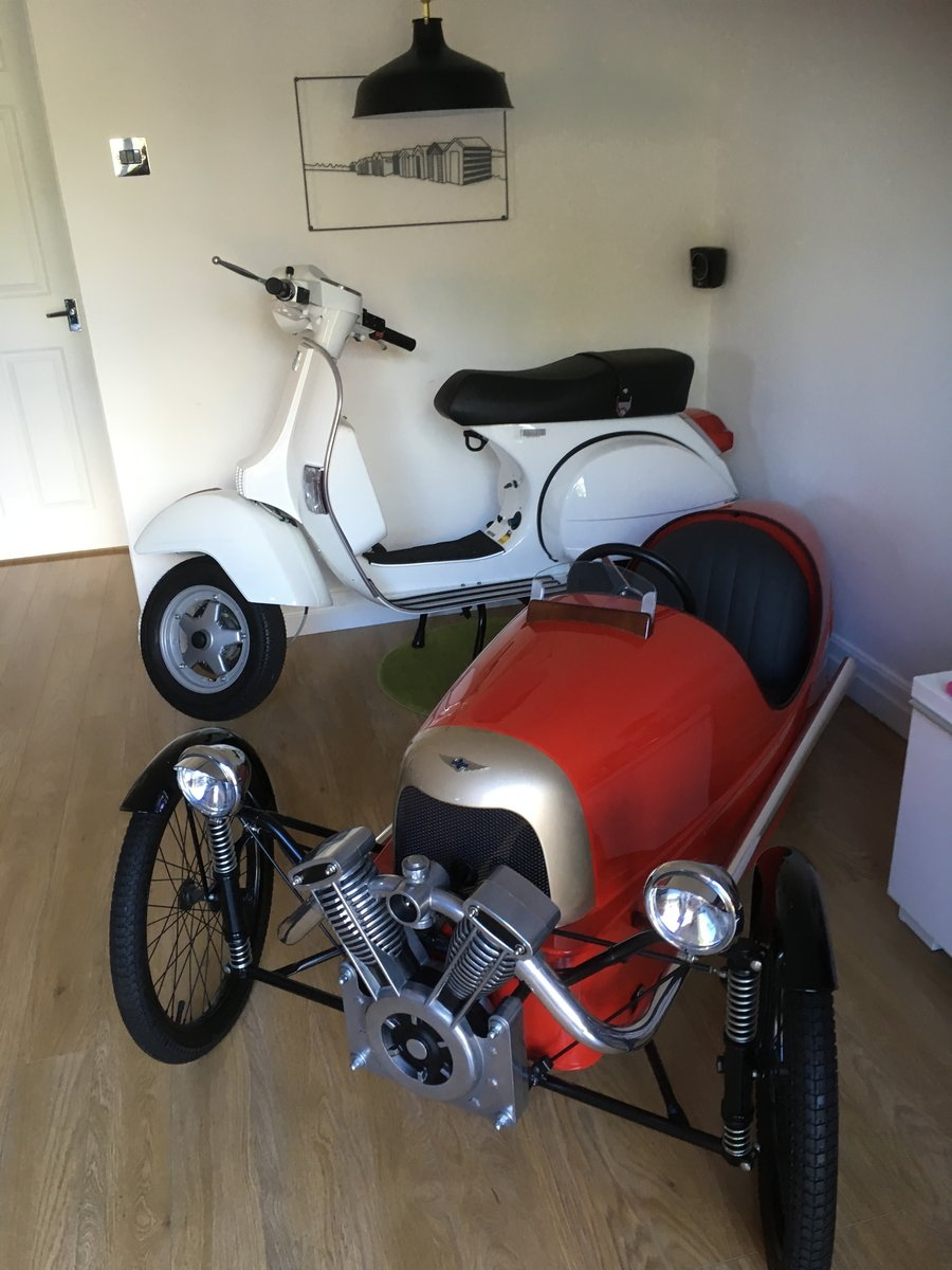 2015 New unused px 125. Displayed in house from day one For Sale (picture 2 of 6)