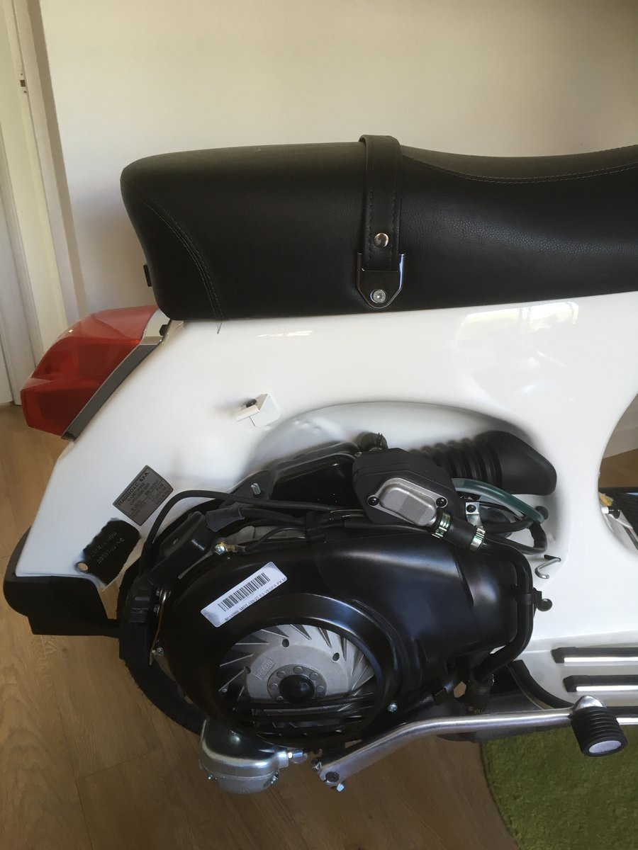 2015 New unused px 125. Displayed in house from day one For Sale (picture 6 of 6)