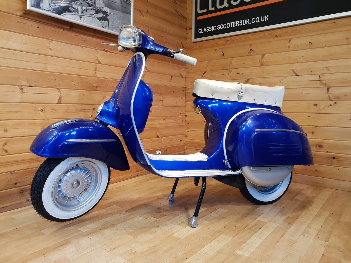 1965 Vespa SS180 (200cc) Direct Italia Import & UK Restored For Sale (picture 1 of 6)