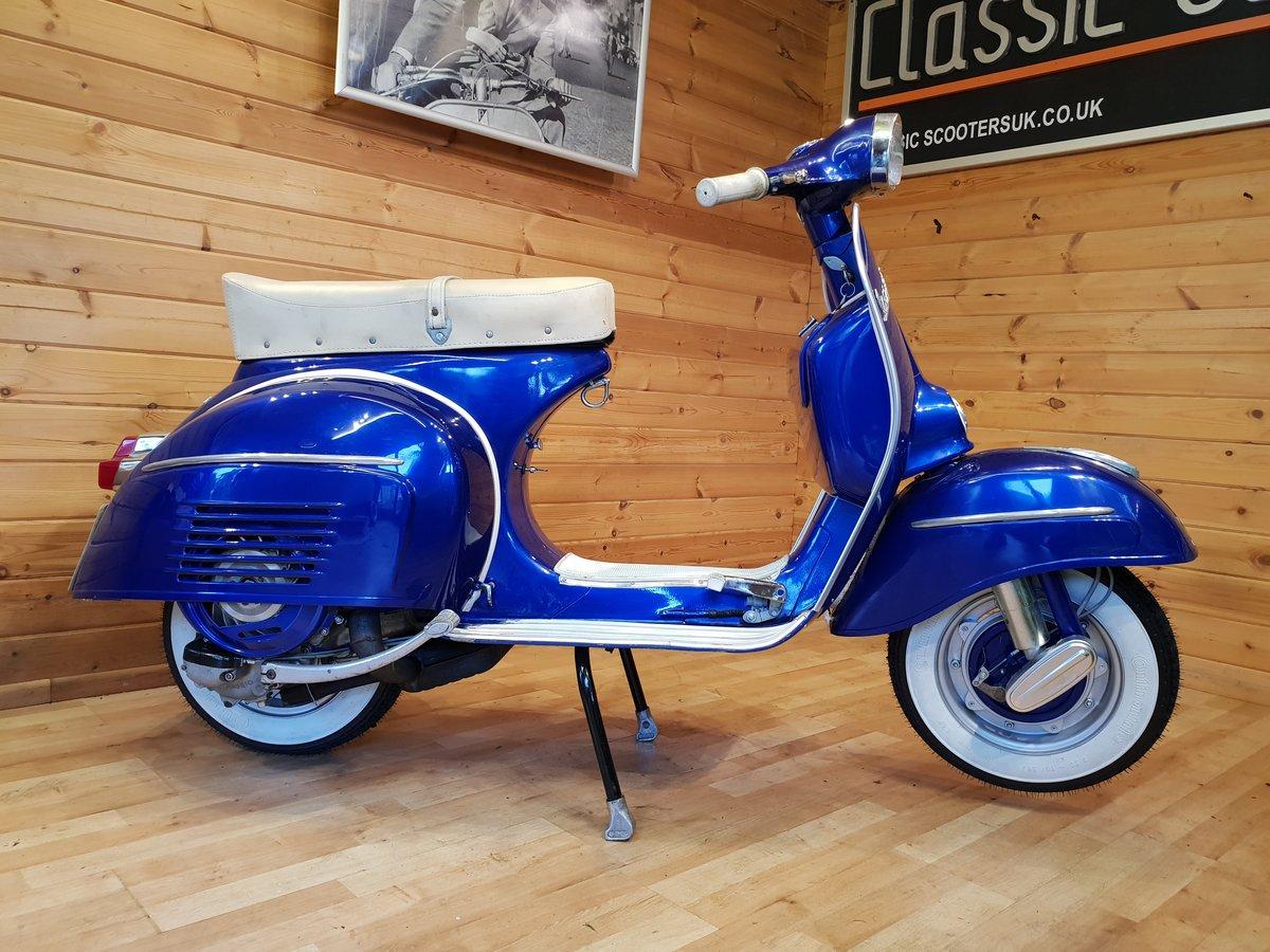 1965 Vespa SS180 (200cc) Direct Italia Import & UK Restored For Sale (picture 2 of 6)