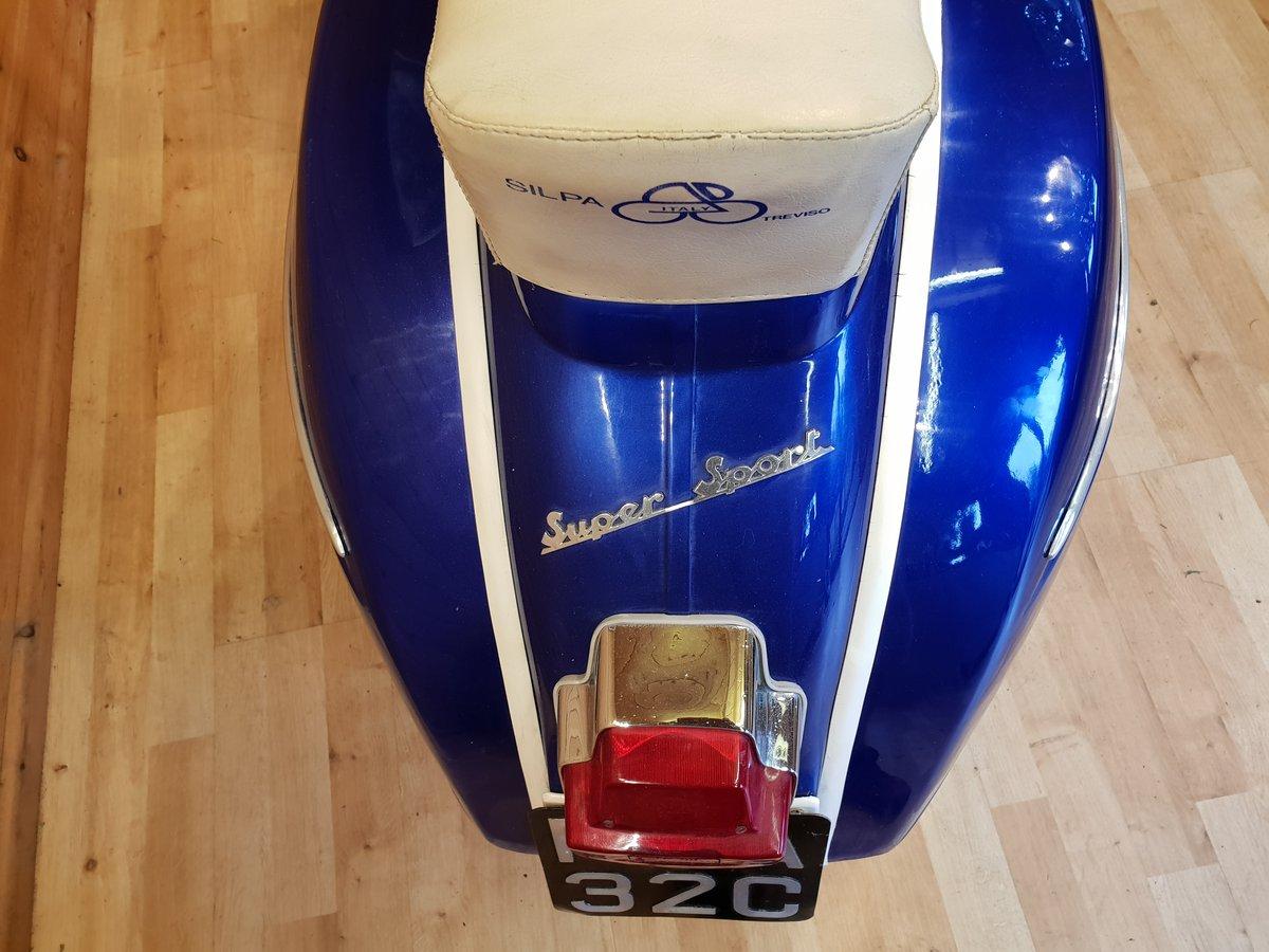 1965 Vespa SS180 (200cc) Direct Italia Import & UK Restored For Sale (picture 4 of 6)