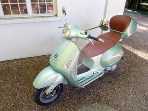 2004 Vespa Granturismo GT 200 only 1,900 miles from new  SOLD