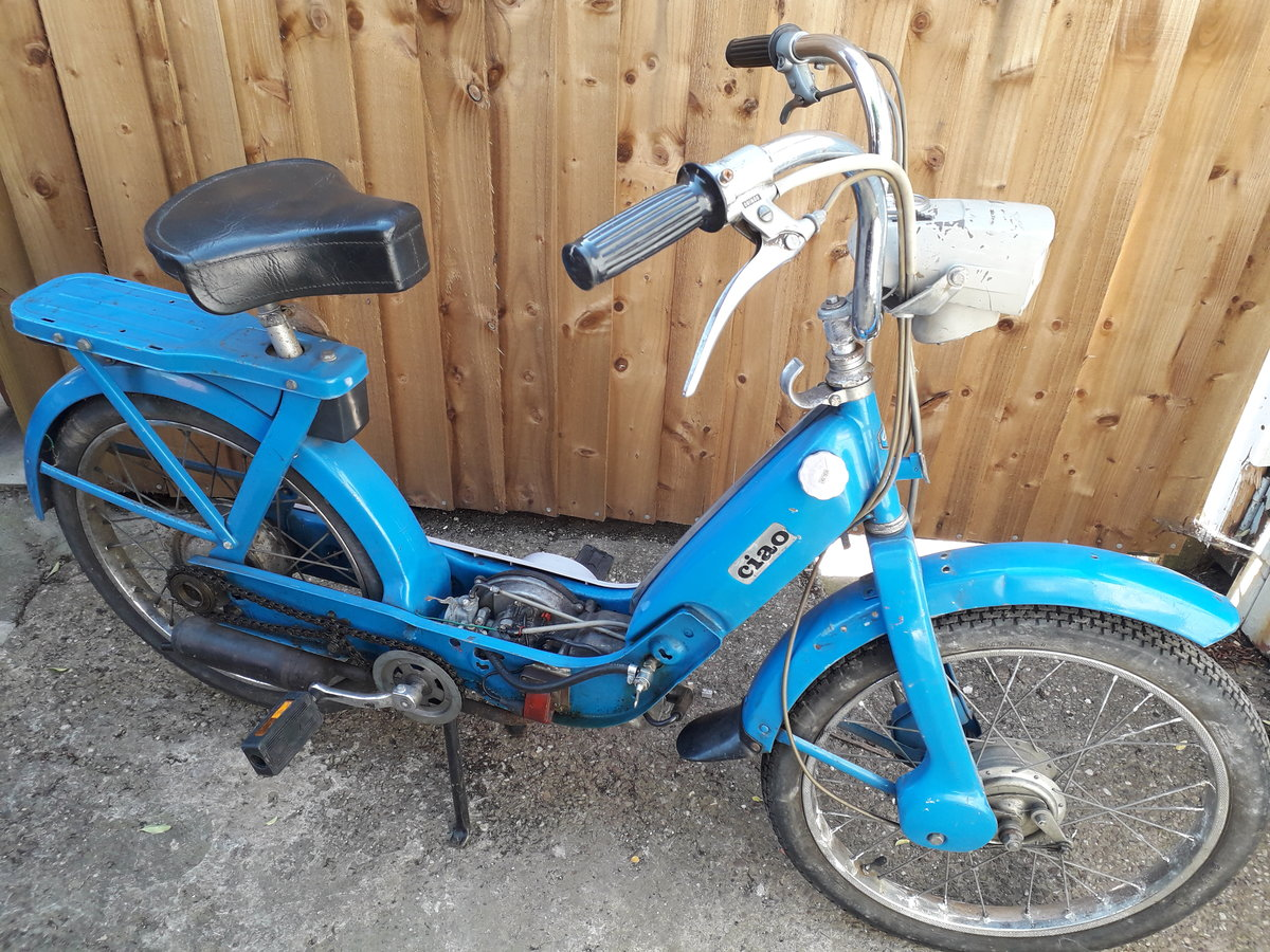 1971 Vespa ciao peddle & pop For Sale (picture 2 of 3)