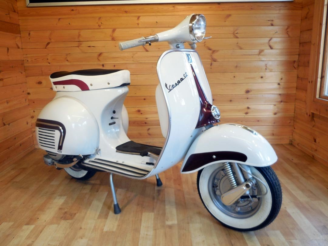 1964 MotoVespa 150S  (125cc) GS160 Look-A-Like - UK Restored For Sale (picture 1 of 4)