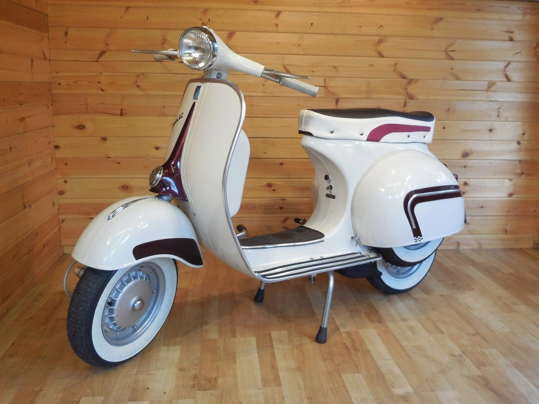1964 MotoVespa 150S  (125cc) GS160 Look-A-Like - UK Restored For Sale (picture 2 of 4)