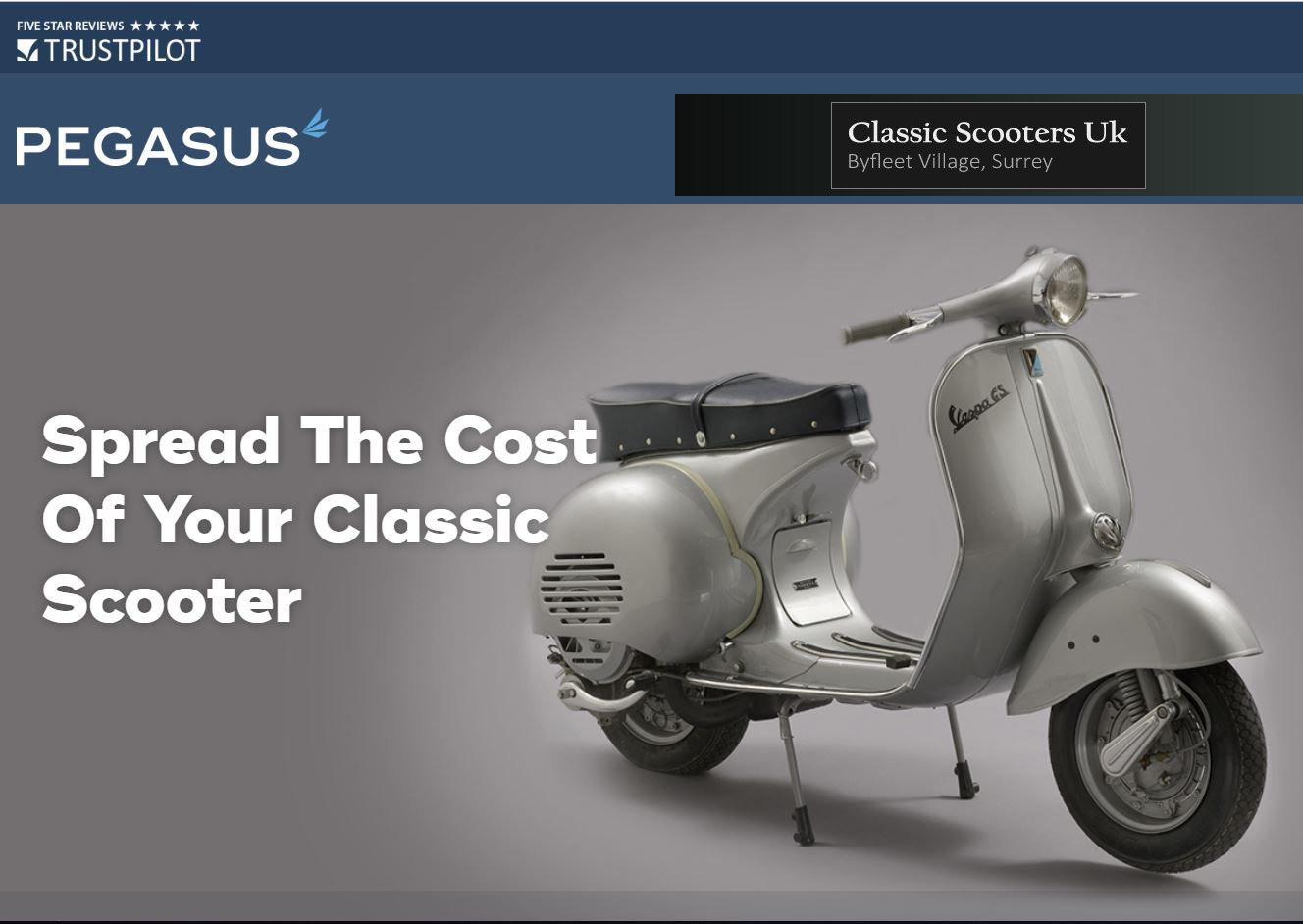 1964 MotoVespa 150S  (125cc) GS160 Look-A-Like - UK Restored For Sale (picture 4 of 4)