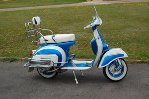 1965 Vespa SS180 Eddy Grimstead Hurricane replica For Sale