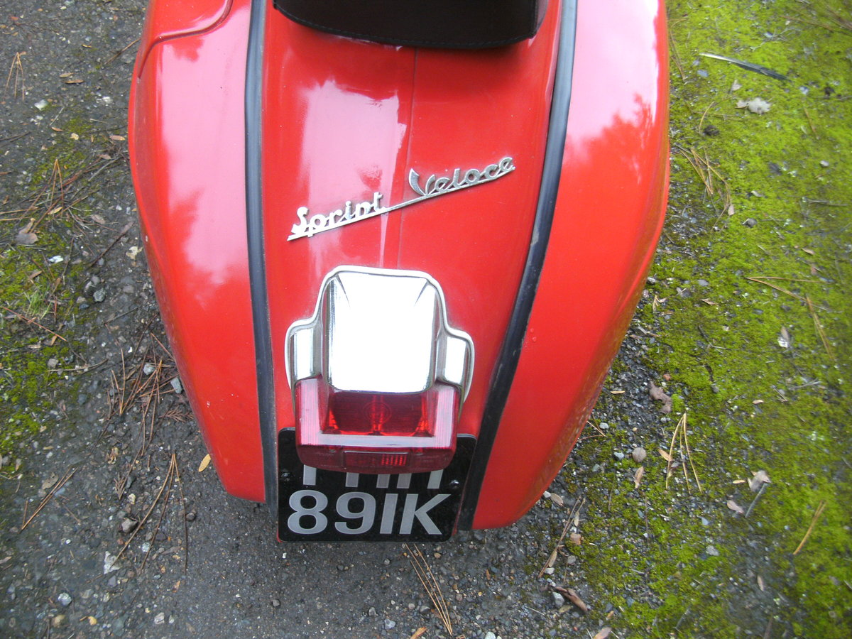 1972 VESPA  150 SPRINT VELOCE Reduced For Sale (picture 4 of 6)