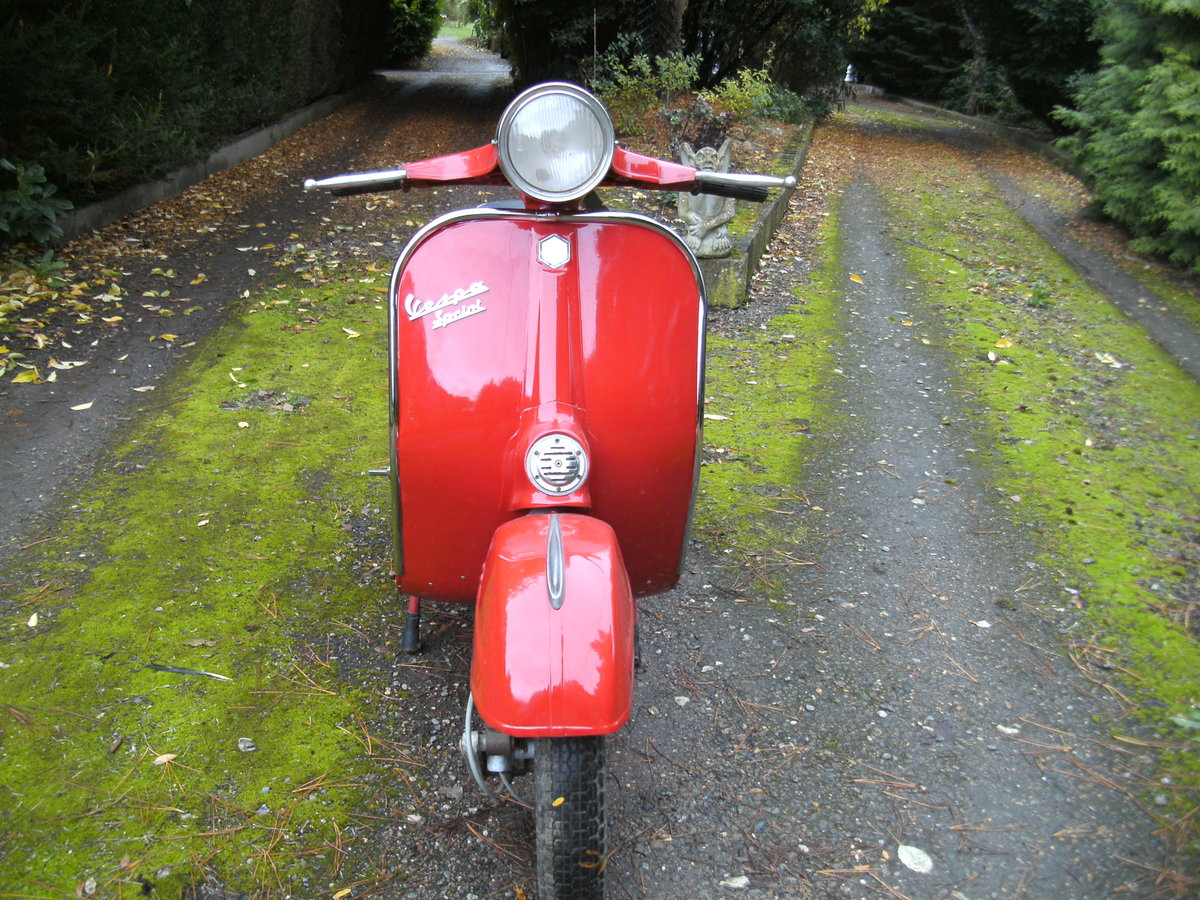 1972 VESPA  150 SPRINT VELOCE Reduced For Sale (picture 5 of 6)