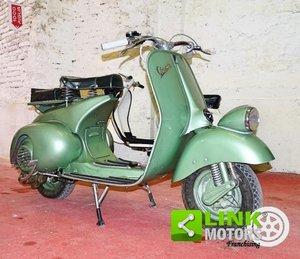 VESPA 125 FARO BASSO 1951 For Sale