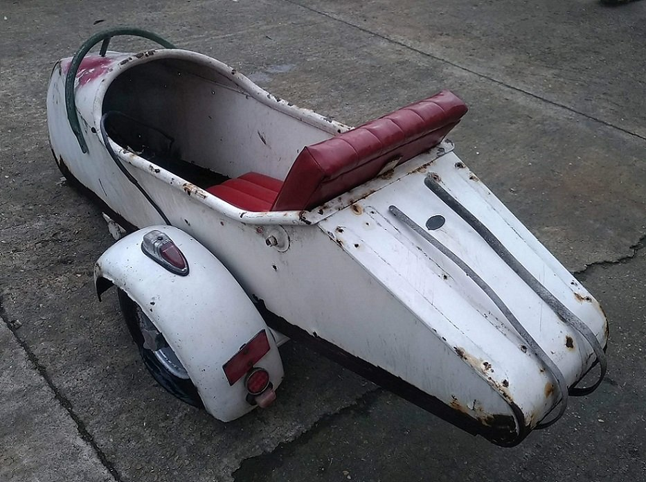 1954 SIDE CAR STEIB LS200 SPECIAL SCOOTER For Sale (picture 6 of 6)