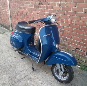 Picture of 1978 VESPA V5A french model with pedal