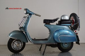 1962 Vespa 150 Touring 4, 177 cc, 10 hp