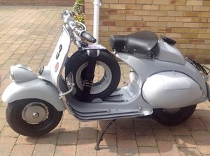 1953 Vespa VM1T built to 6 Day Spec