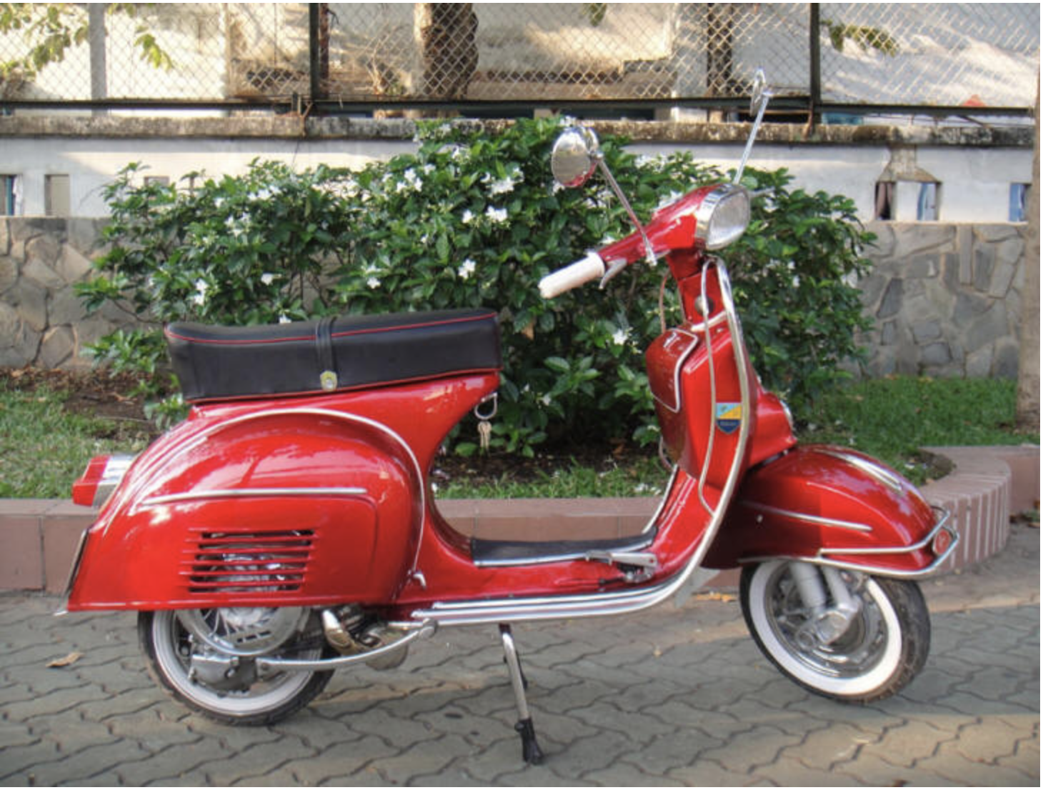 1967 Vespa SS180 - Red - FULLY Restored For Sale (picture 1 of 6)