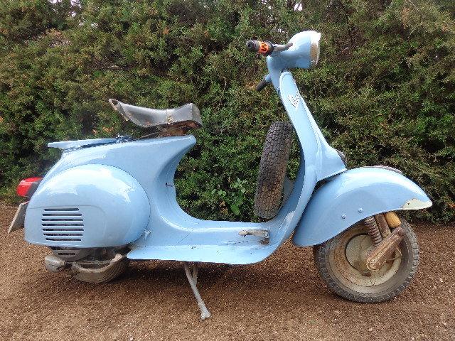1961 Vespa 125 L 1960 For Sale (picture 1 of 6)