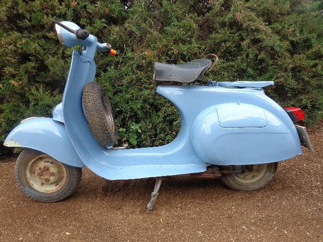 1961 Vespa 125 L 1960 For Sale (picture 2 of 6)