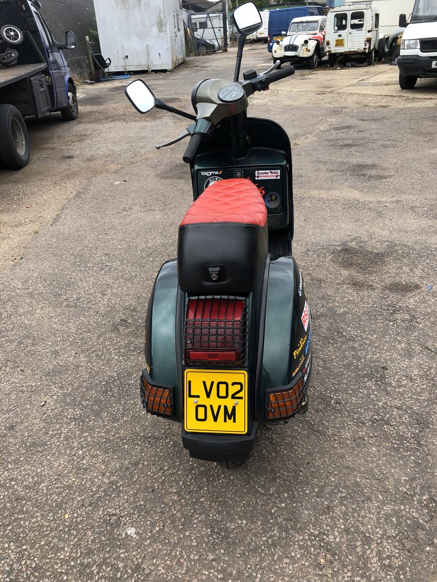 2002 Vespa px 125 For Sale (picture 3 of 6)