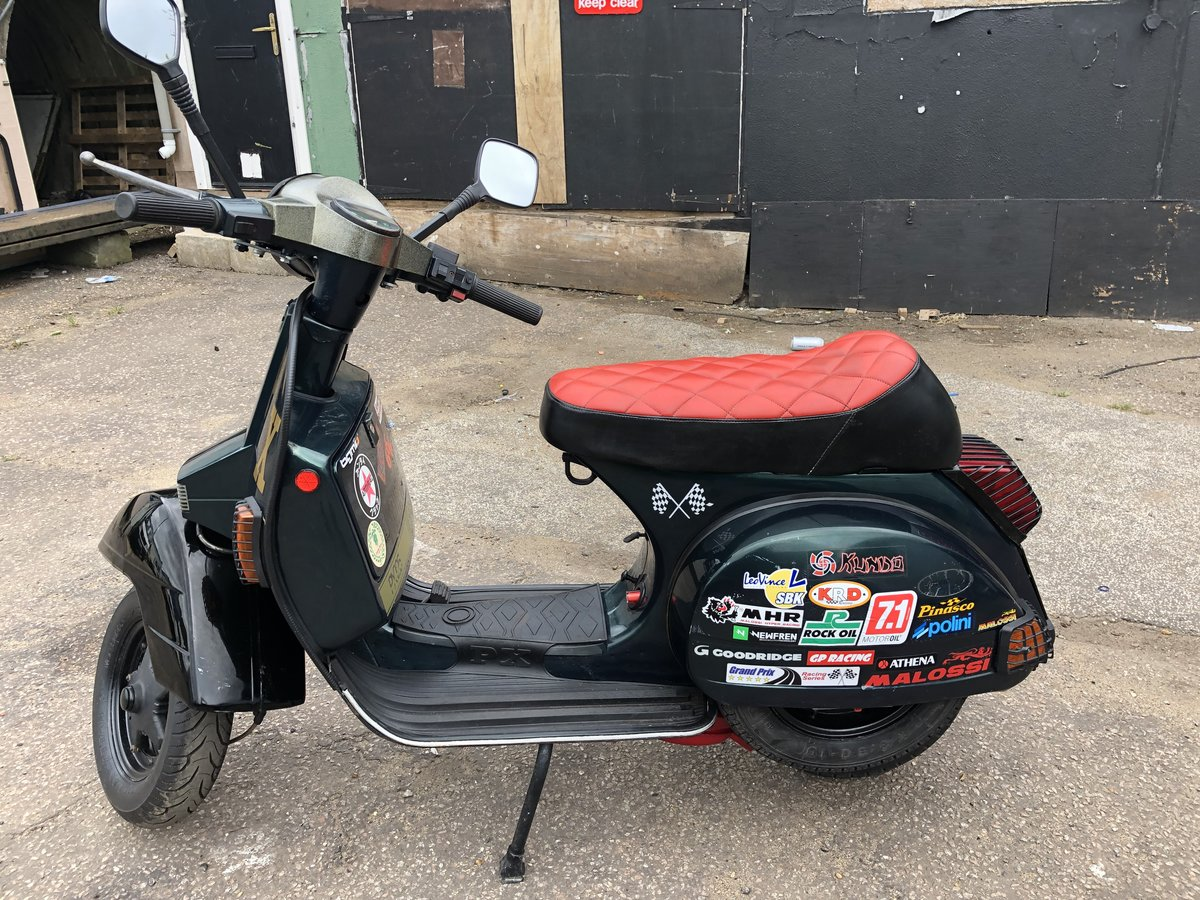 2002 Vespa px 125 For Sale (picture 5 of 6)