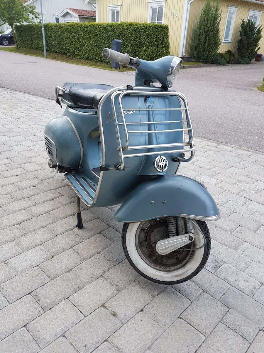 1962 Vespa GL 150 original paint For Sale (picture 1 of 6)