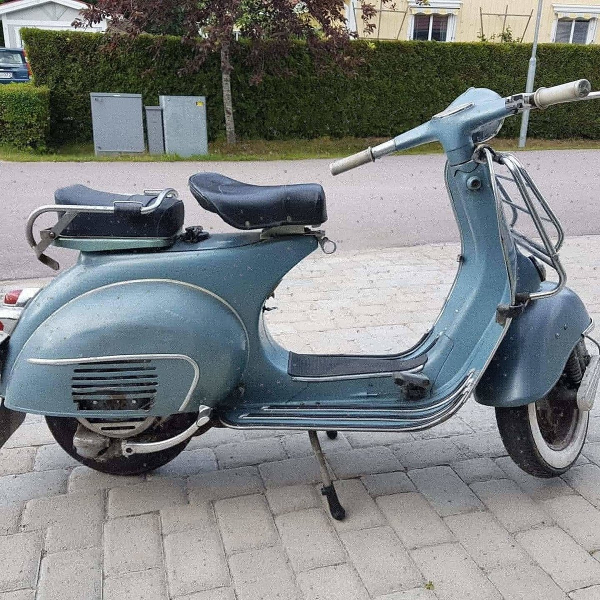 1962 Vespa GL 150 original paint For Sale (picture 3 of 6)