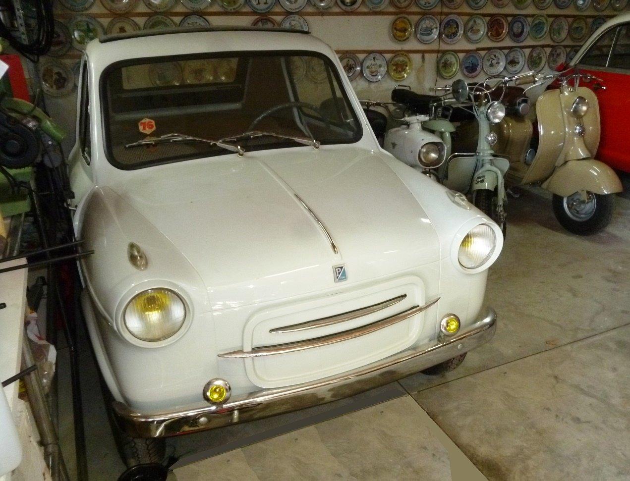 1960 Piaggio Vespa Acma 400 microcar For Sale (picture 2 of 6)