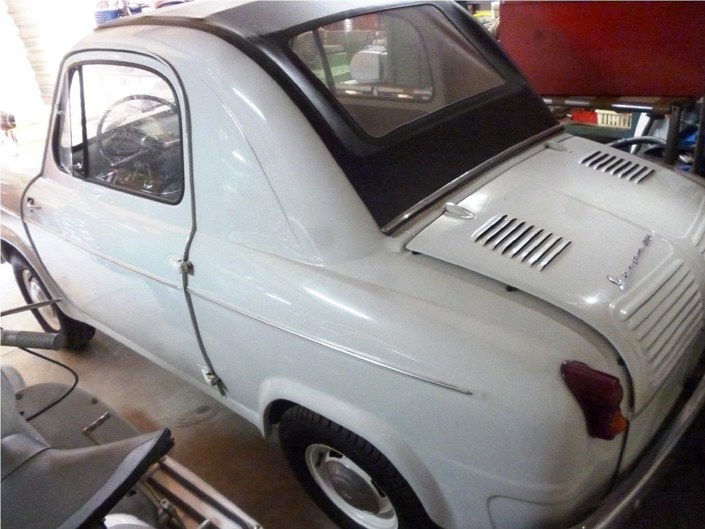 1960 Piaggio Vespa Acma 400 microcar For Sale (picture 3 of 6)