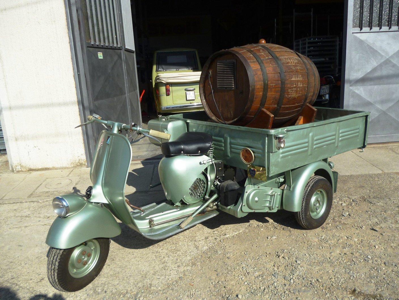 1956 Vespa 150 AB4T Cassone For Sale (picture 2 of 6)